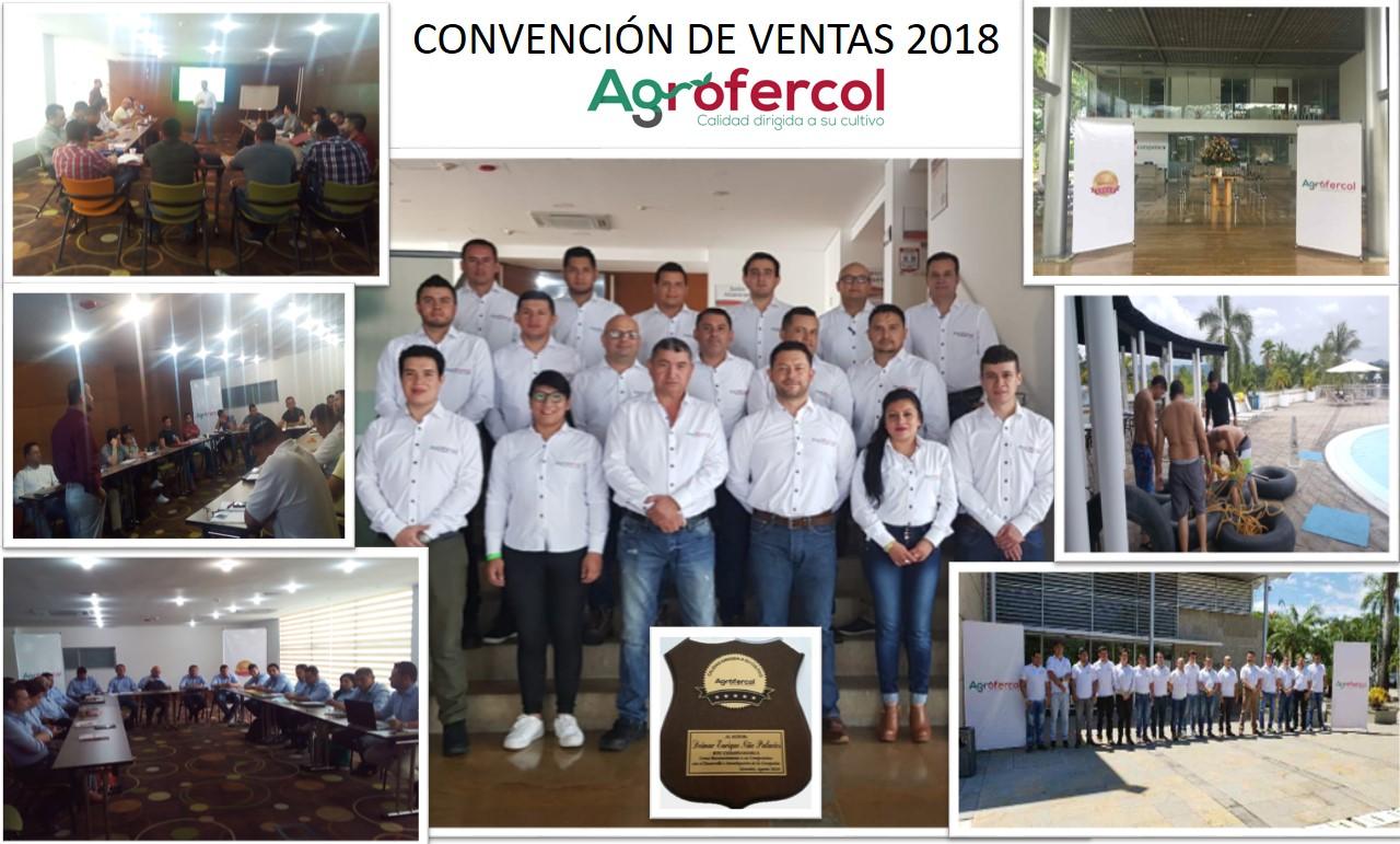Convención de ventas Agrofercol 2018