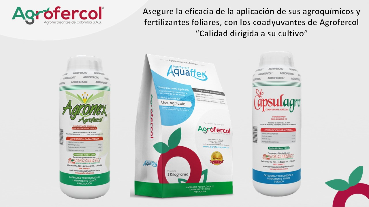 COADYUVANTES AGROFERCOL®